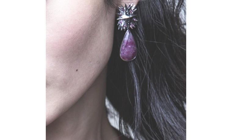Bird in the sky earrings