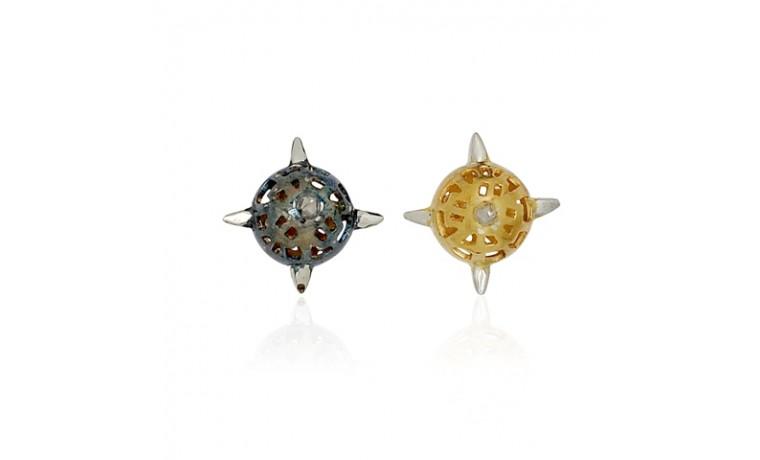 Compass Stud Earrings