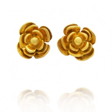 Rosy Stud Earrings