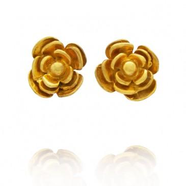 Rosy Stud Earrings