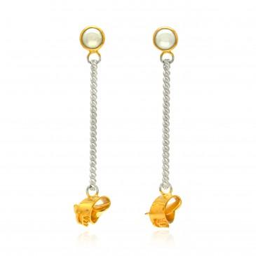 I Promise in Gold Earrings