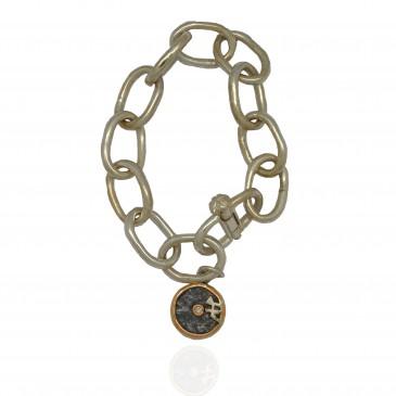 Connection Coin Bracelet