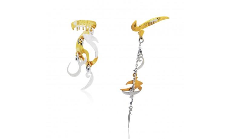 Mantras Love Earrings
